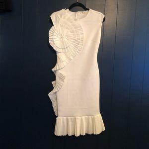 White dress, Size S, $50.